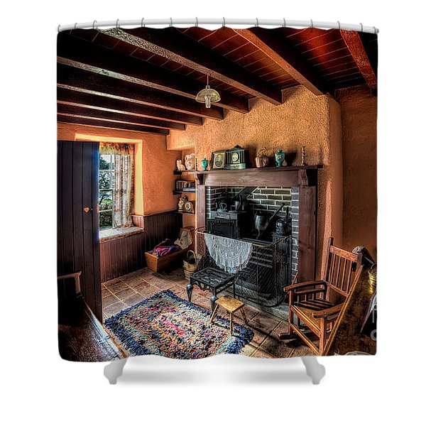 Victorian Cottage Shower Curtain by Adrian Evans