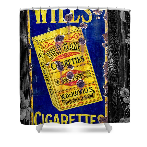 Victorian Sign Shower Curtain by Adrian Evans