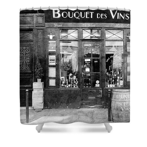 Vintage Paris 11c Shower Curtain by Andrew Fare