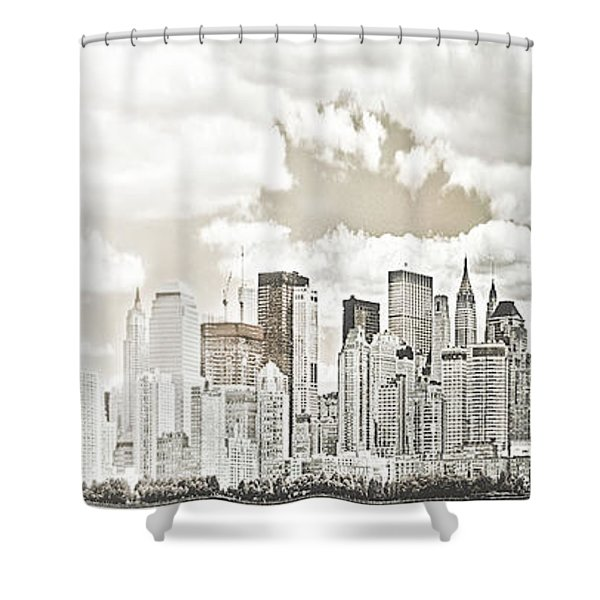 Visions In My Mind Shower Curtain by Janie Johnson