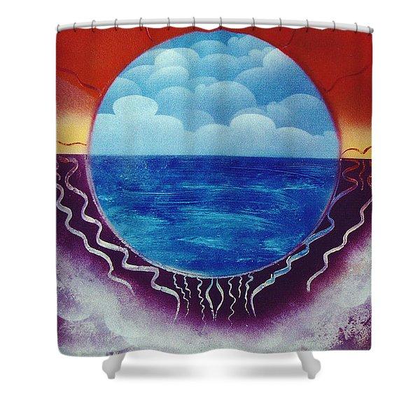 Visions Shower Curtain by Jason Girard