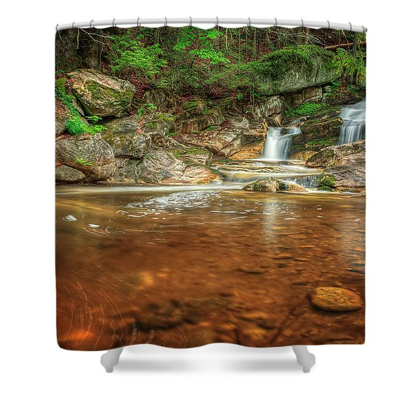 Wading Pool Shower Curtain by Bill  Wakeley