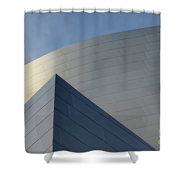 Walt Disney Concert Hall 3 Shower Curtain by Bob Christopher