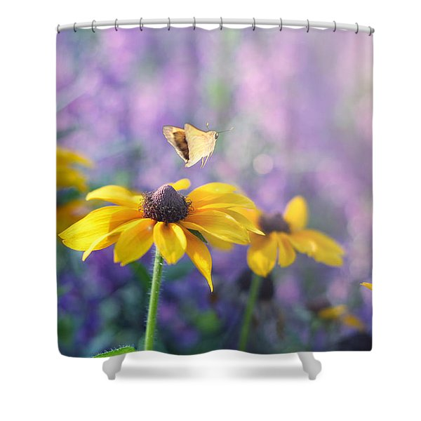 Wanderlust Shower Curtain by Amy Tyler