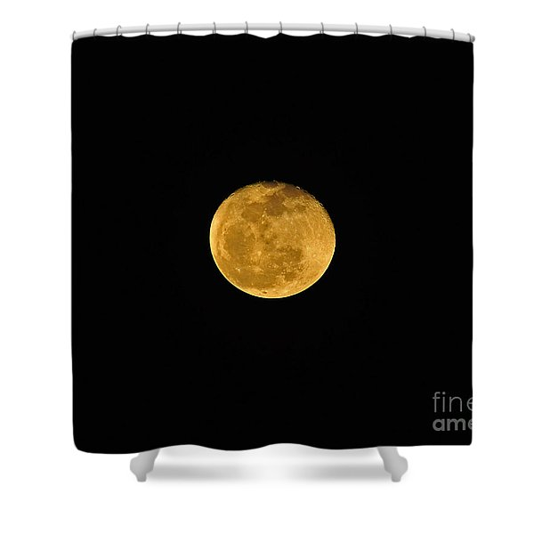 Waning Passover Moon Shower Curtain by Al Powell Photography USA