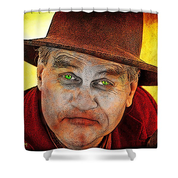 Wanna Be Friends? Shower Curtain by Chuck Staley