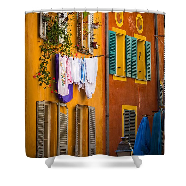 Wash Day Shower Curtain by Inge Johnsson