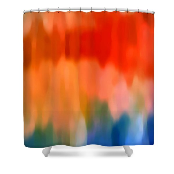 Watercolor 1 Shower Curtain by Amy Vangsgard