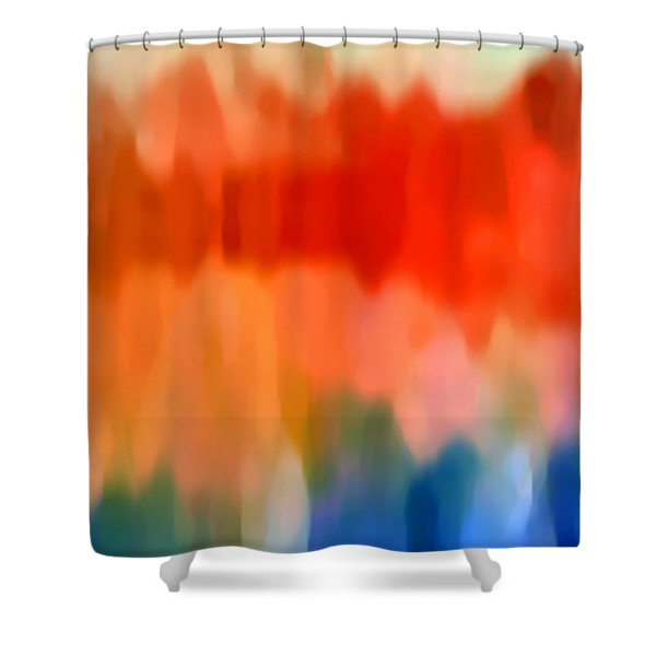 Watercolor 5 Shower Curtain by Amy Vangsgard