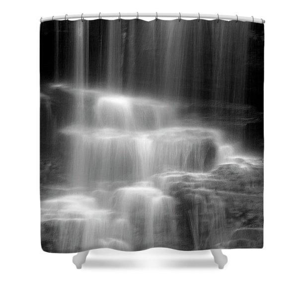 Waterfall Shower Curtain by Tony Cordoza