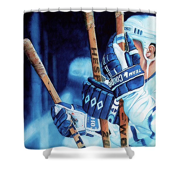 Weapons of Choice Shower Curtain by Hanne Lore Koehler