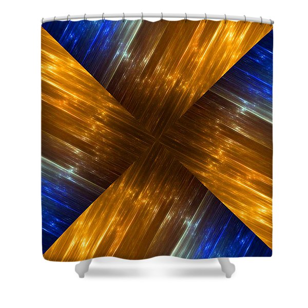 Weave Shower Curtain by Cheryl Young