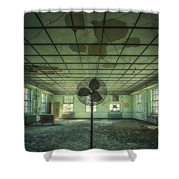 Welcome to the Asylum Shower Curtain by Evelina Kremsdorf