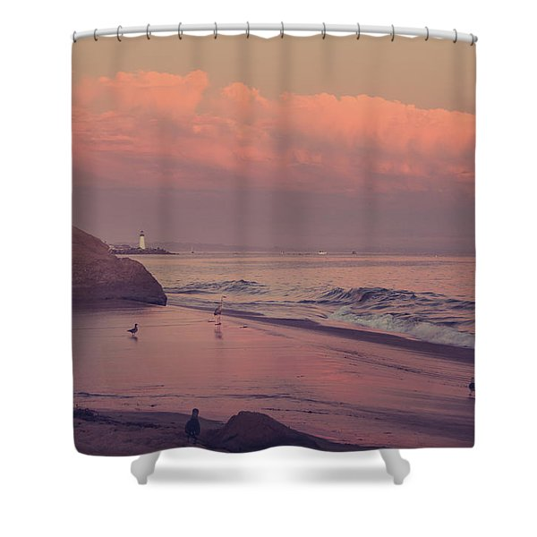 We'll Just Sit Here For a While Shower Curtain by Laurie Search