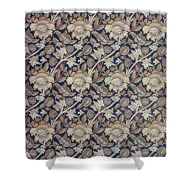 Wey design Shower Curtain by William Morris