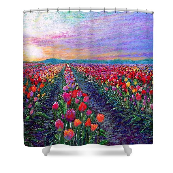 What Dreams Have Come Shower Curtain by Jane Small