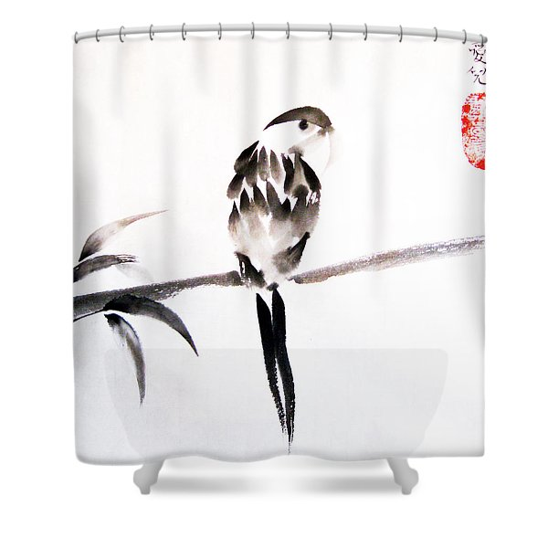 What's Up Shower Curtain by Oiyee  At Oystudio