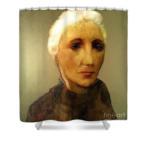 When I'm Sixty-four Shower Curtain by RC DeWinter