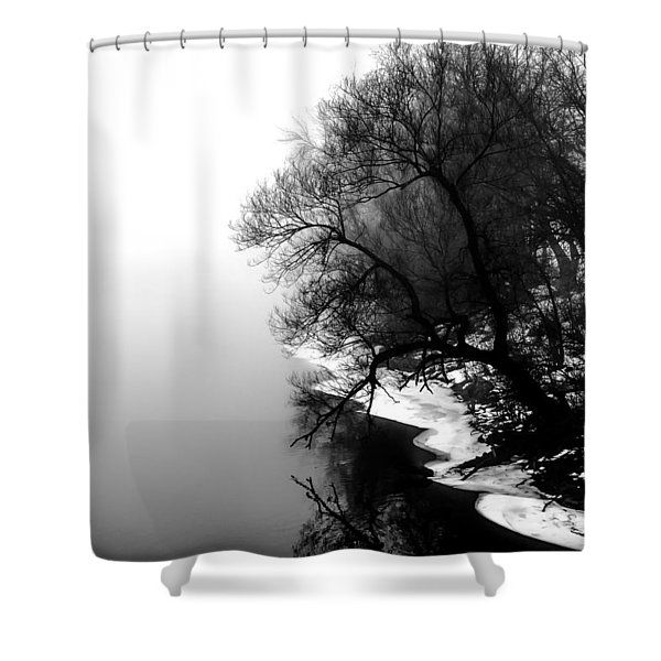 Whisper Shower Curtain by Bob Orsillo