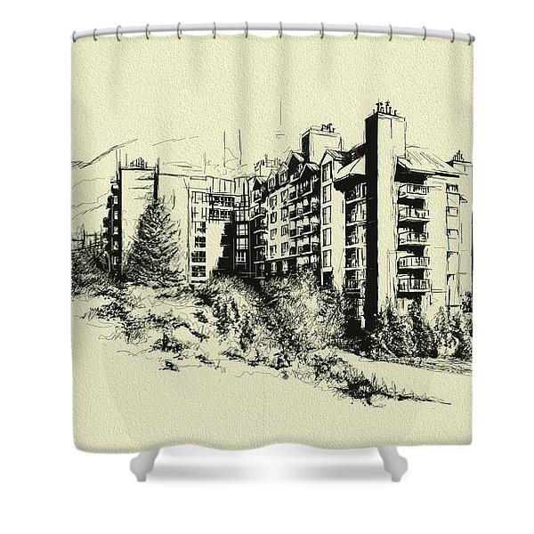Whistler Art 007 Shower Curtain by Catf