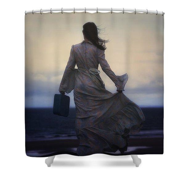 windy journey Shower Curtain by Joana Kruse