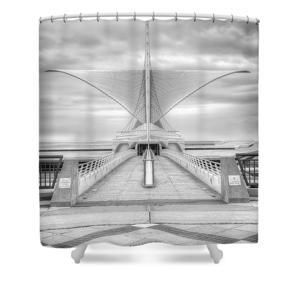 Wing Span Shower Curtain by Scott Norris