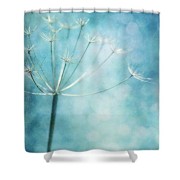 Winter Colors Shower Curtain by Priska Wettstein