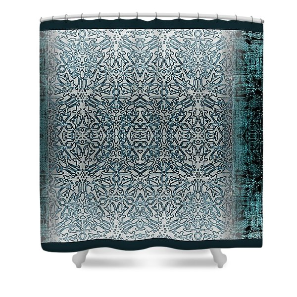 Winters past and present Shower Curtain by CR Leyland