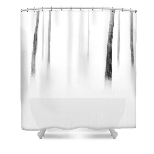 Wonderland Shower Curtain by Scott Pellegrin