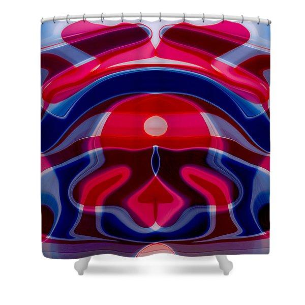 Wwf Warrior Shower Curtain by Omaste Witkowski