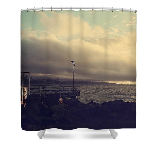You're a Force of Nature Shower Curtain by Laurie Search