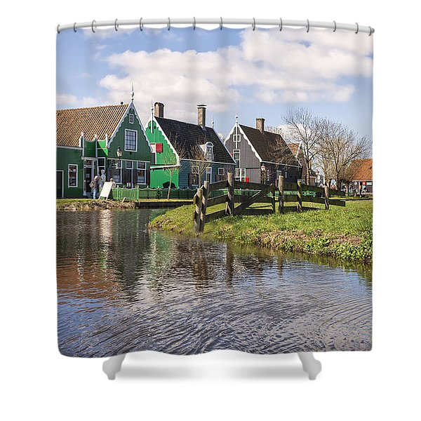 Zaanse Schans Shower Curtain by Joana Kruse