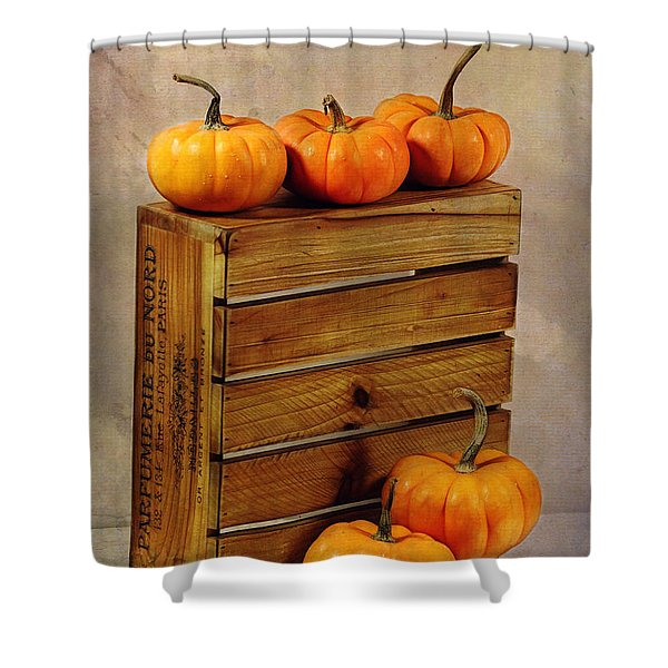 Autumn Still Life Shower Curtain by Judi Bagwell