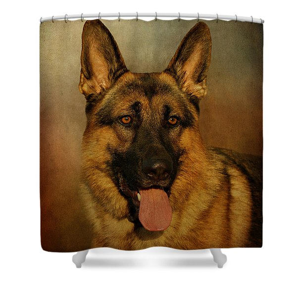 Chance Shower Curtain by Sandy Keeton