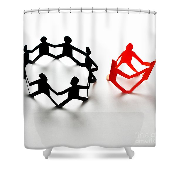 Conceptual Situation Shower Curtain by Photo Researchers, Inc.