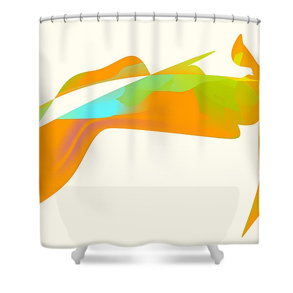 Falcon Pond Shower Curtain by Kevin McLaughlin