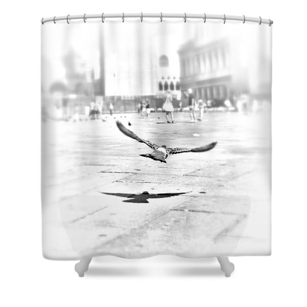 Freedom Shower Curtain by Marianna Mills