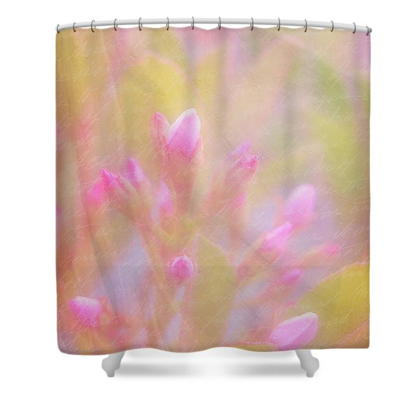 Innocence Shower Curtain by Judi Bagwell