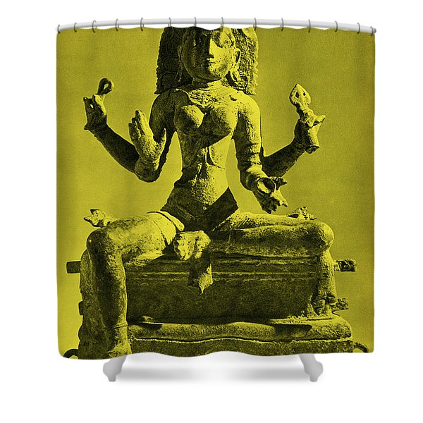 Kali Shower Curtain by Photo Researchers