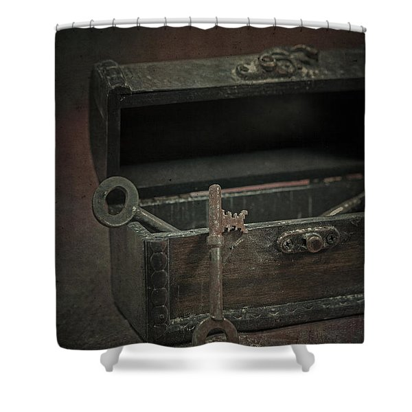 Keys Shower Curtain by Joana Kruse