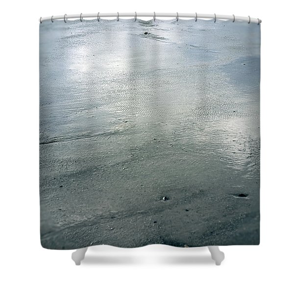 low tide Shower Curtain by Joana Kruse