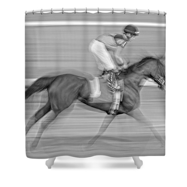 Motion  Shower Curtain by Betsy C  Knapp