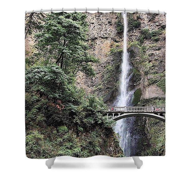 Multnomah Shower Curtain by Rudy Umans