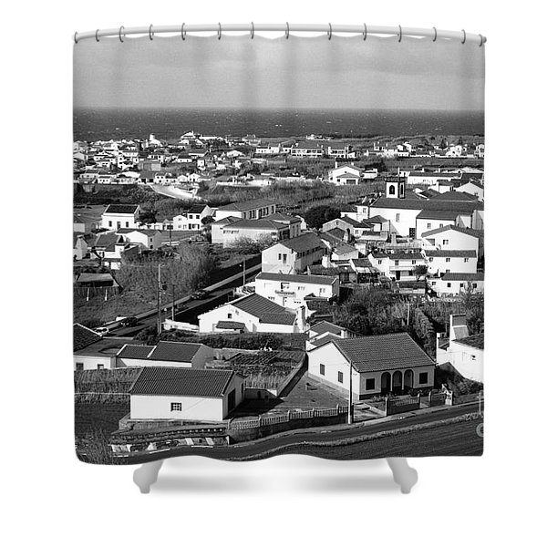 Parish In The Azores Shower Curtain by Gaspar Avila