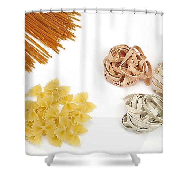 Pasta Shower Curtain by Joana Kruse