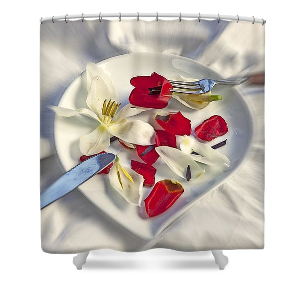 petals Shower Curtain by Joana Kruse
