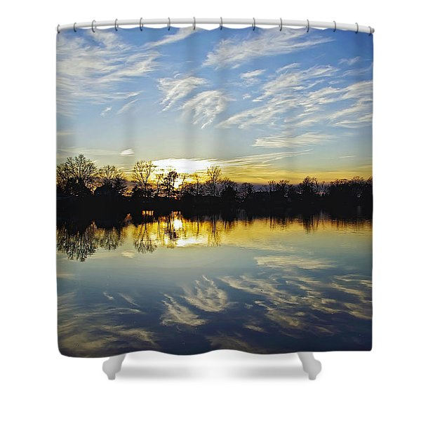 Reflections Shower Curtain by Brian Wallace