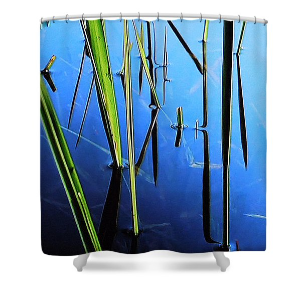 Reflections In Water Shower Curtain by Colette V Hera  Guggenheim