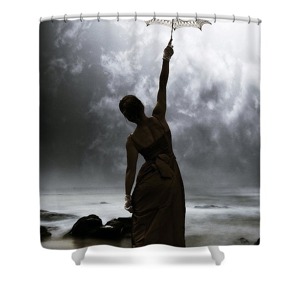 Silhouette Shower Curtain by Joana Kruse