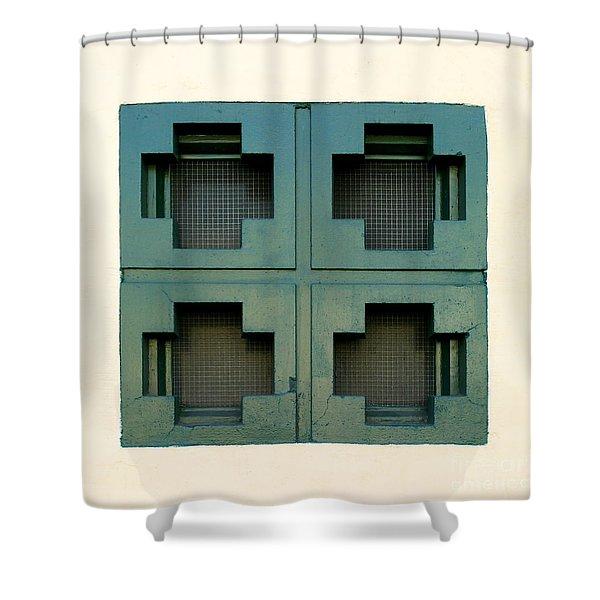 Windows Shower Curtain by Henrik Lehnerer
